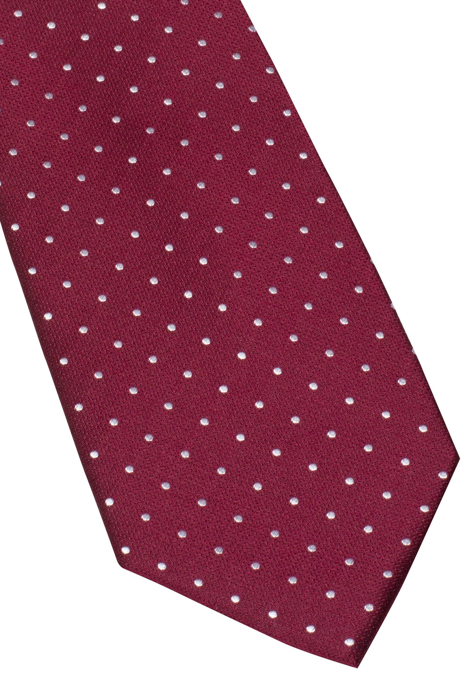 ETERNA 9026 Krawatte Seide bordeaux