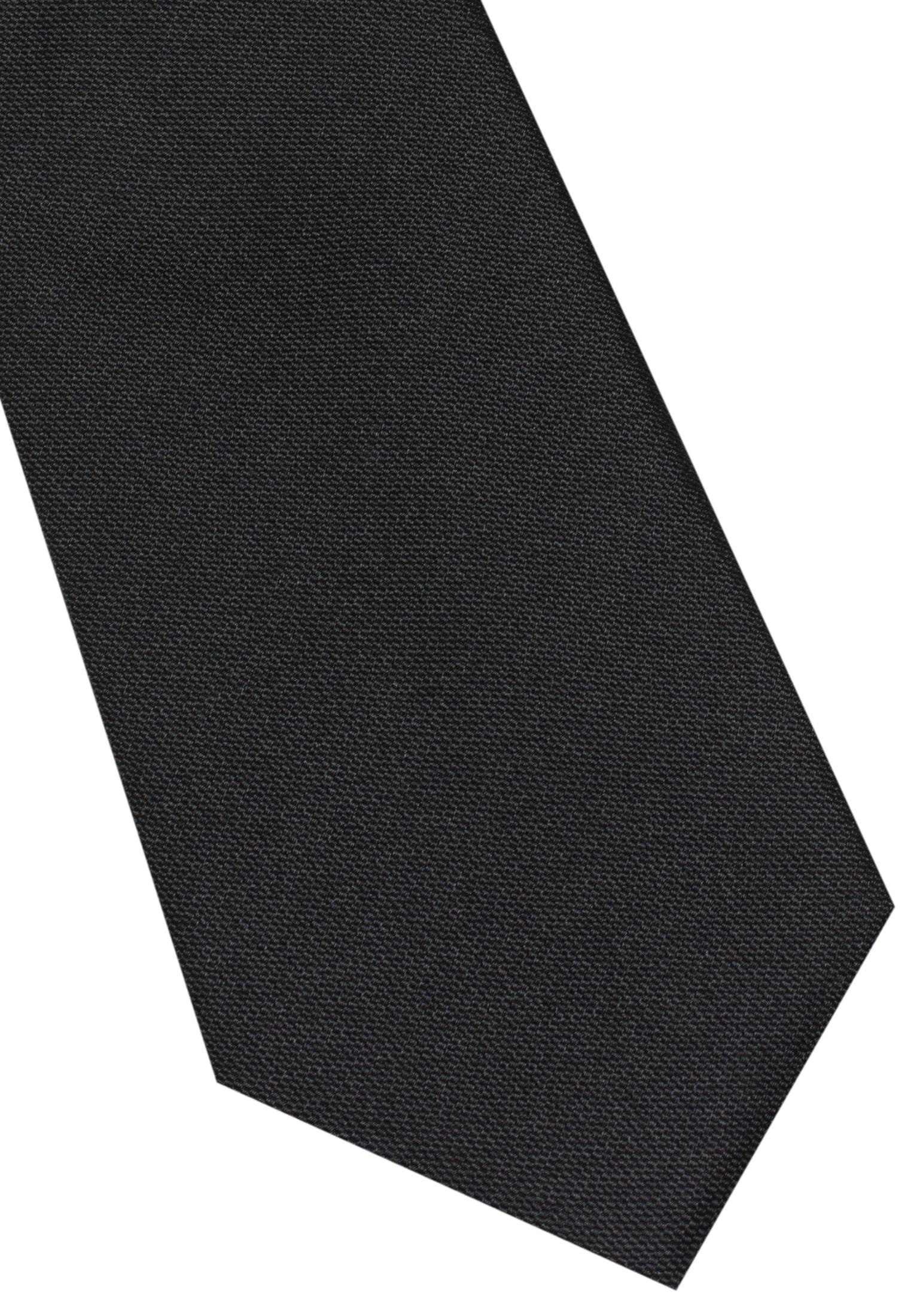 ETERNA 9024 Krawatte Seide schwarz