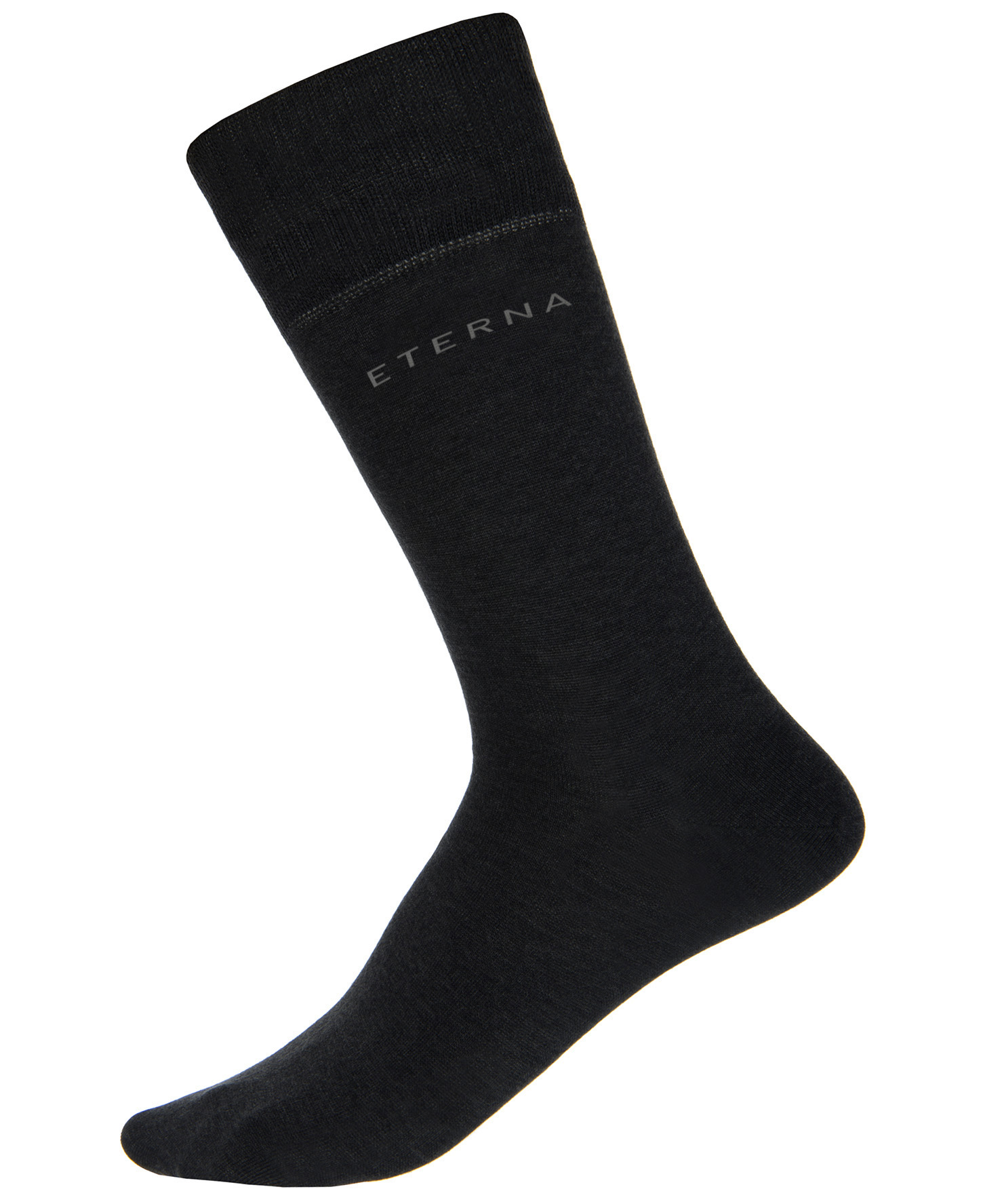 ETERNA 600 Socken Baumwolle, schwarz