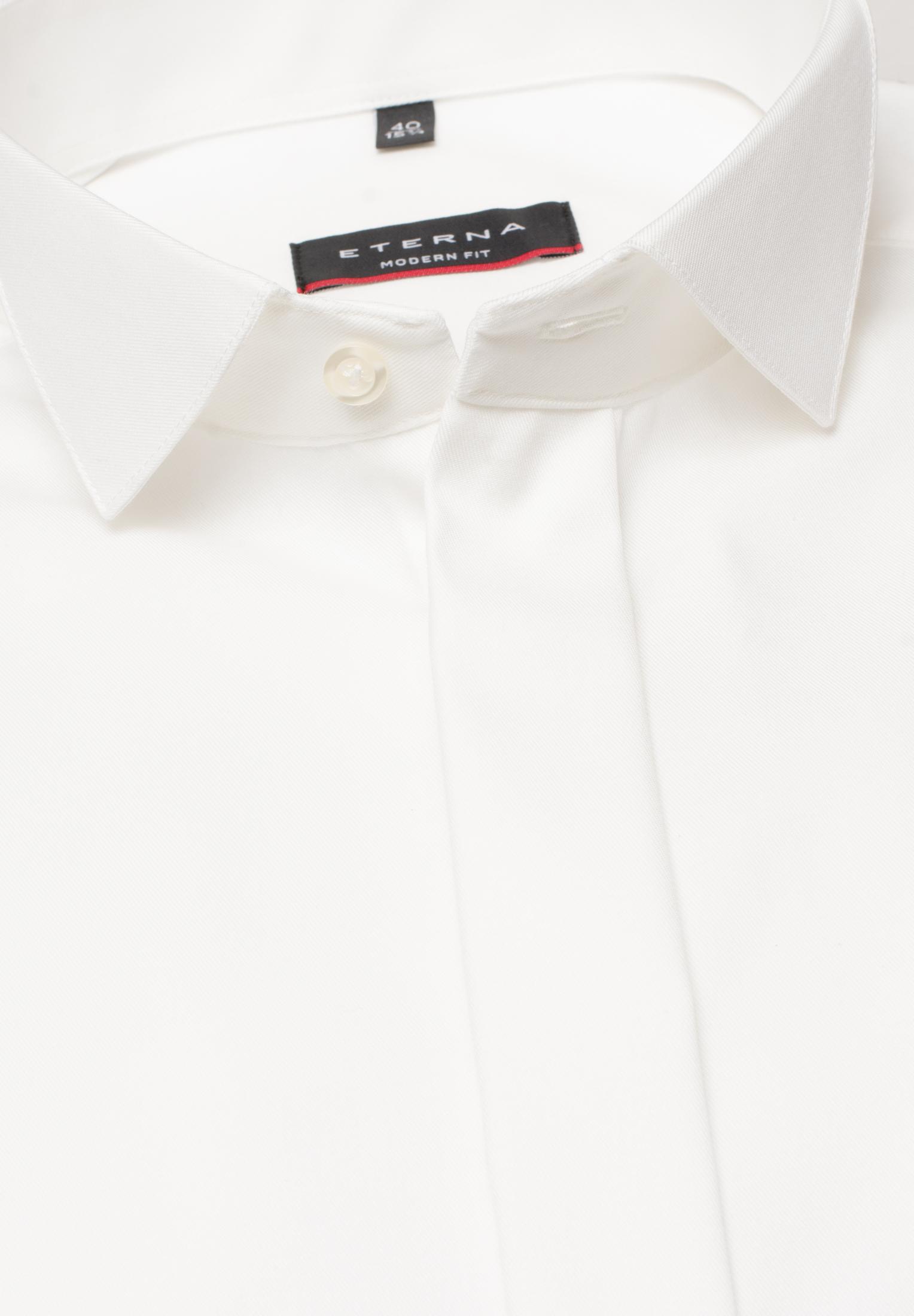 ETERNA 8817 Hemd Baumwolle beige Langarm Umschlagmanschette